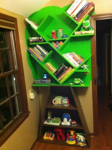 Micah's Custom Tree Bookcase